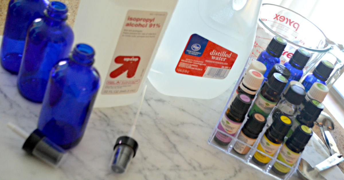 Make your own poop spray diy with these ingredients on the counter