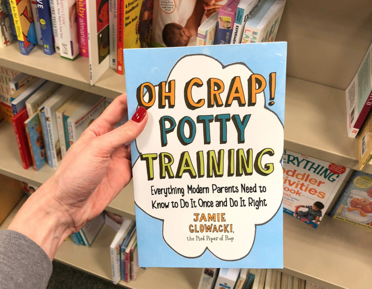 oh crap potty training book