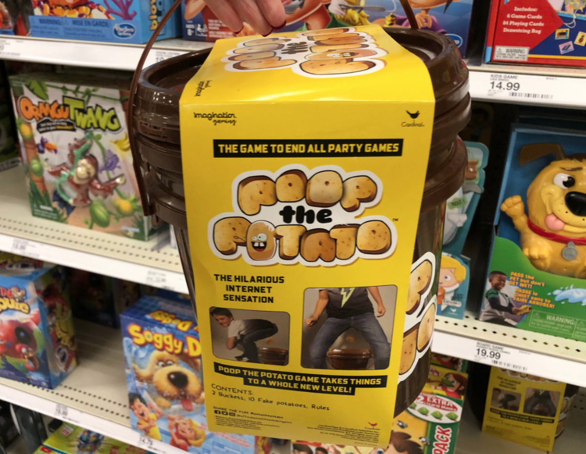 poop the potato game
