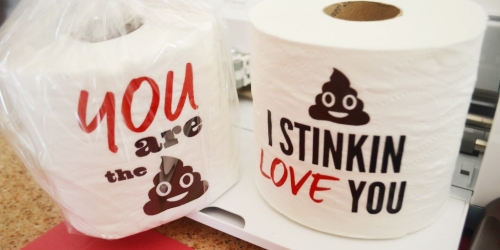 Toilet Paper Gag Gifts (Plus, Free Digital Downloads)