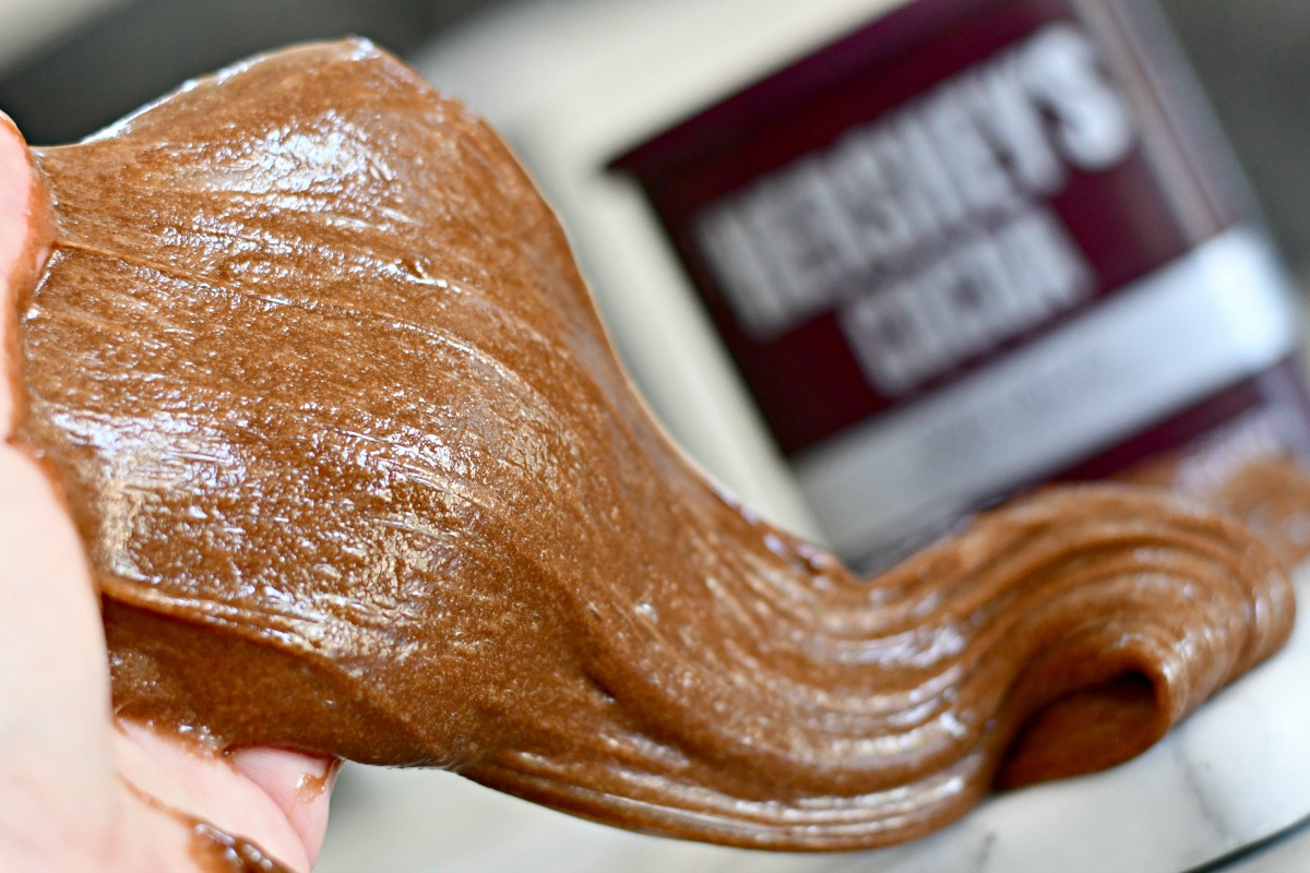 finished cocoa powder slime