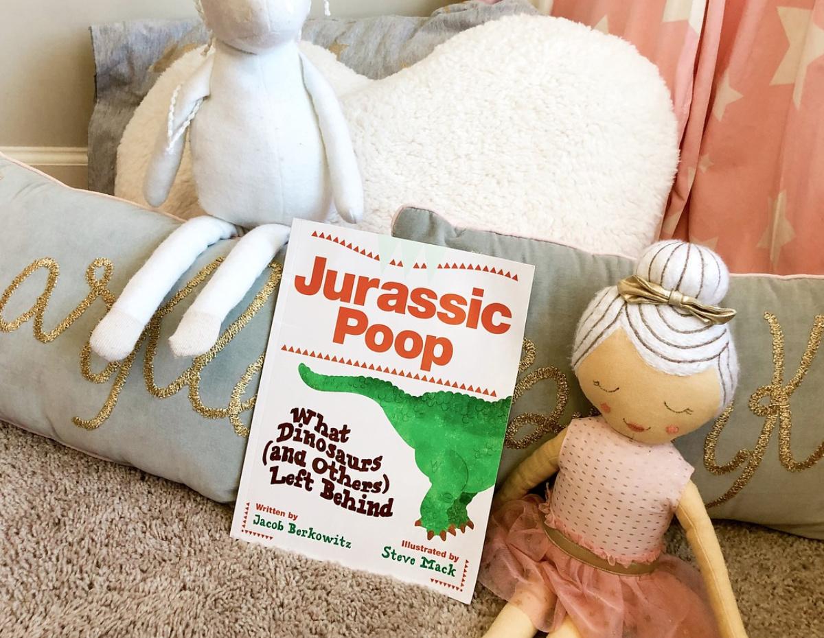jurassic poop book