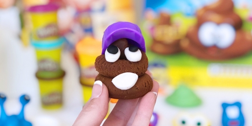 Make Your Own 3D Poop Emoji With This Play Set