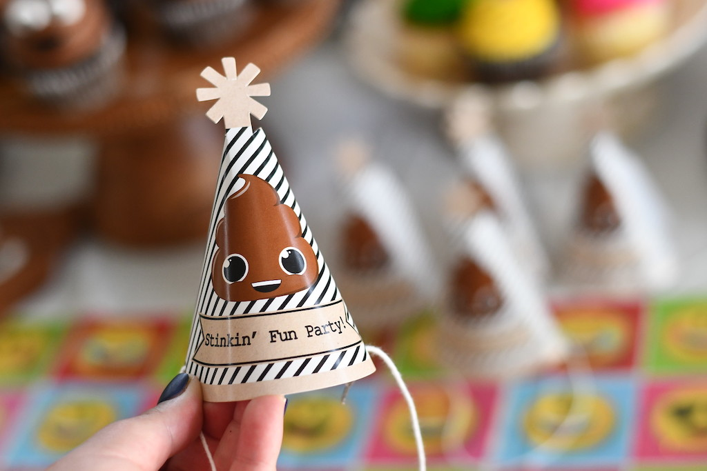 Stinkin' Fun Party Mini Hat