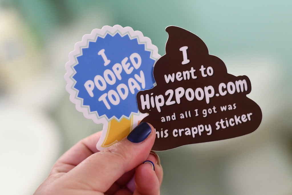 Vinyl Poop Stickers