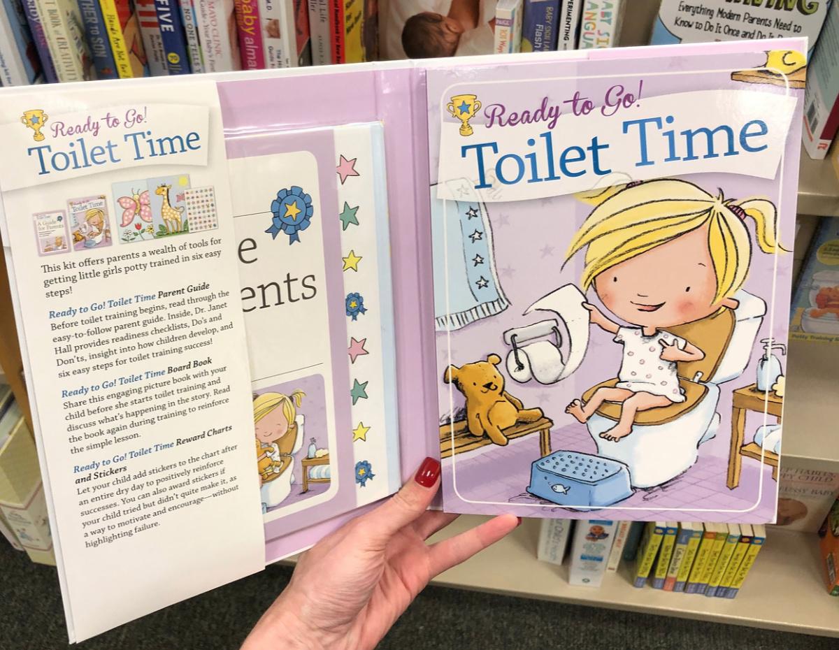 yoilet time book